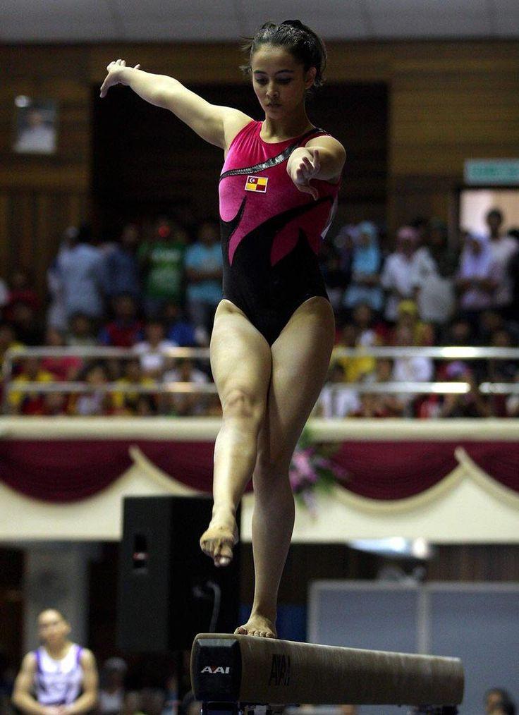 Farah Ann Abdul Hadi, atlet senam Malingshit yg HOT abis !