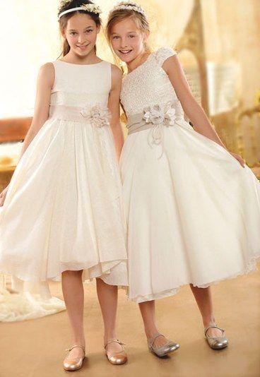 Vestidos cortos de comunión - Los vestidos de comunión para niña más bonitos - enfemenino