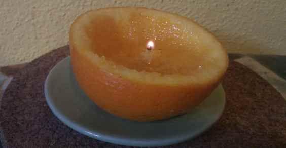 Come realizzare candele dalle arance in pochi minuti