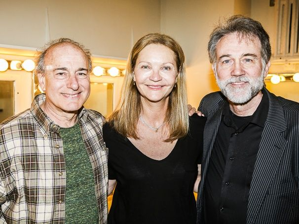 Original THE HEIDI CHRONICLES stars Peter Friedman, Joan Allen and Boyd Gaines reunite at the revival! #pinoftheday