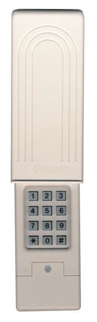 Features:  -Keypad.  -Works with all brands of garage door openers.  -Secure access to your garage and home.  -Delivers the latest technology in security, convenience, and performance.  -Preprogrammed
