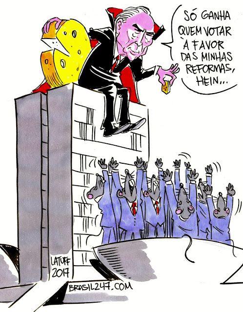 """Taís Paranhos: Latuff e a visão dele da """"Ratatouille"""""""