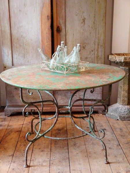 gorgeous old table
