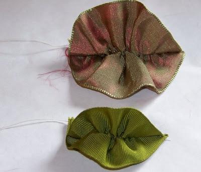 Ribbon Leaf Tutorial - needed for all those beautiful ribbon flowers!