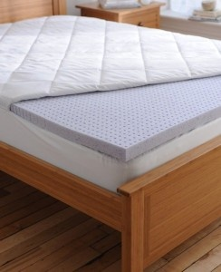 SleepBetter Featured Product for May: Isotonic TheraGel Hole Punched Memory Foam Topper Sleep ...