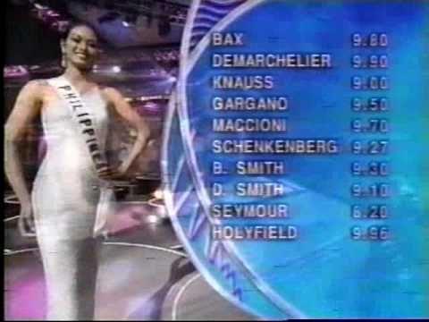 Miss Universe 1999 1st RunnerUp Miriam Quiambao