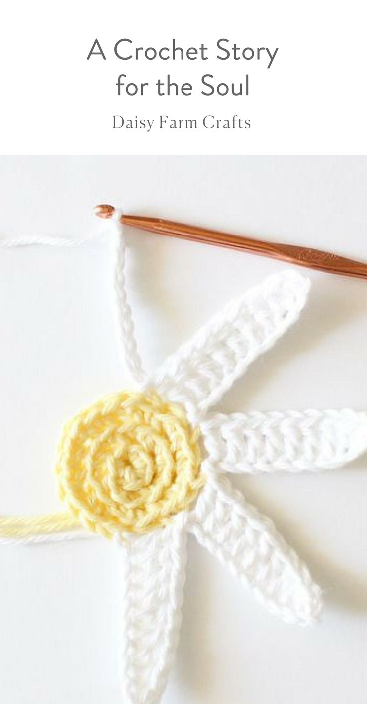 A Crochet Story for the Soul - Daisy Farm Crafts Blog