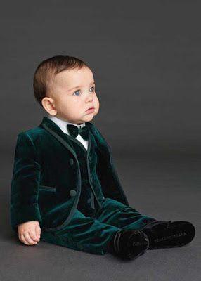 Dolce Gabbana erkek bebek takım elbise
