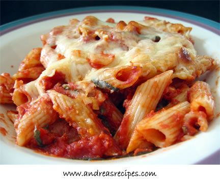 Baked pasta dishes are really enticing for us. We love how the sauce ...