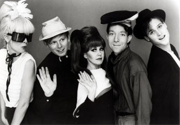 The B-52's are still the coolest band ever.
