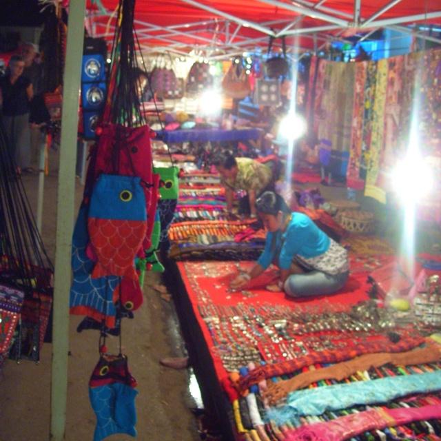 Night markets, Luang Prabang, Laos