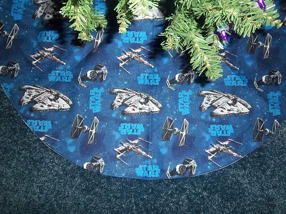 Star Wars Christmas Tree Skirt Handmade 35