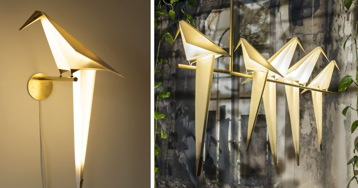 This is amazing! Created by a London-based architect and designer with Turkish heritage, Umut Yamac, this is the Perch Light family. #Decor #Lighting