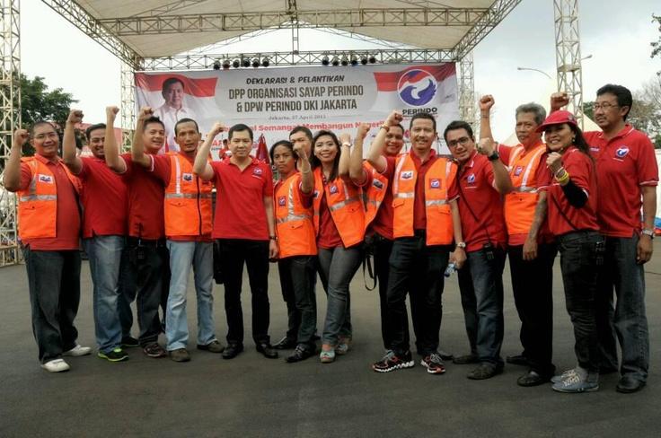 Deklarasi Sayap-sayap Ormas Perindo di Jakarta