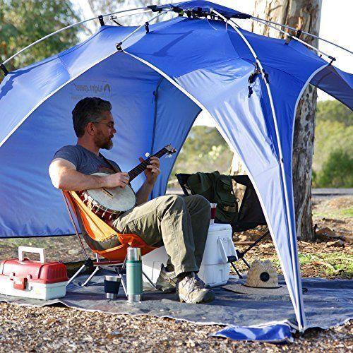 Big Beach Tent Sun Protector Quick Canopy Instant Pop Up Pool Garden Camping NEW #ShadeBeachTent #Beach