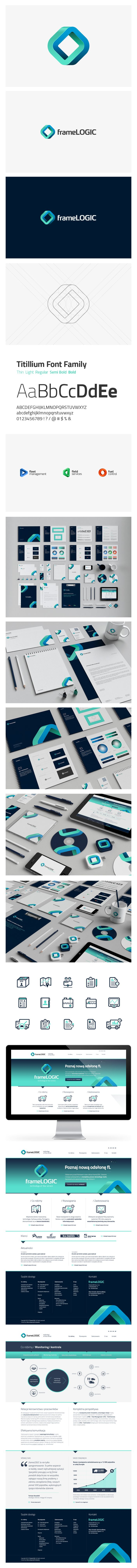 frameLOGIC Branding, made by NECON CREATIVE AGENCY