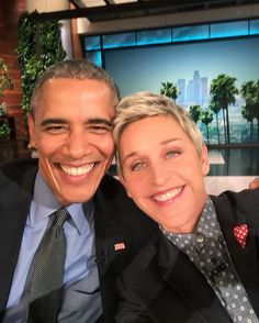 Barack Obama and Ellen DeGeneres took one epic selfie.