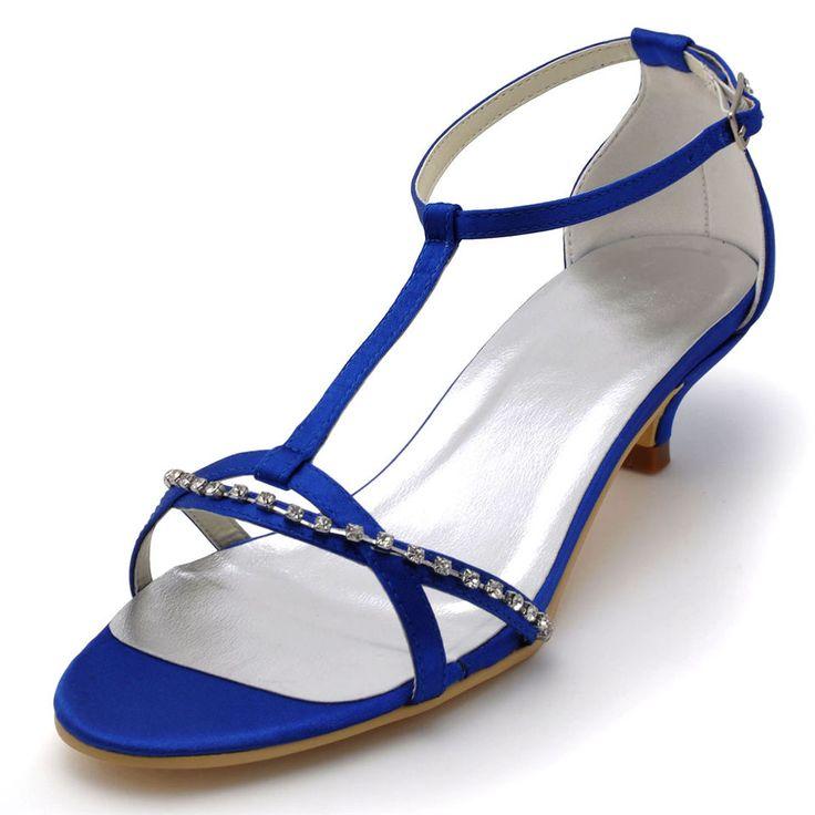 Nuovo cristallo scarpe tacchi da sposa in pizzo raso banchetto del partito argento avorio da sposa damigella d'onore semplice sandali tacco basso pompe RR-147(China (Mainland))