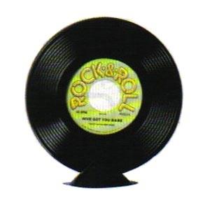 Plastic Record Centrepiece