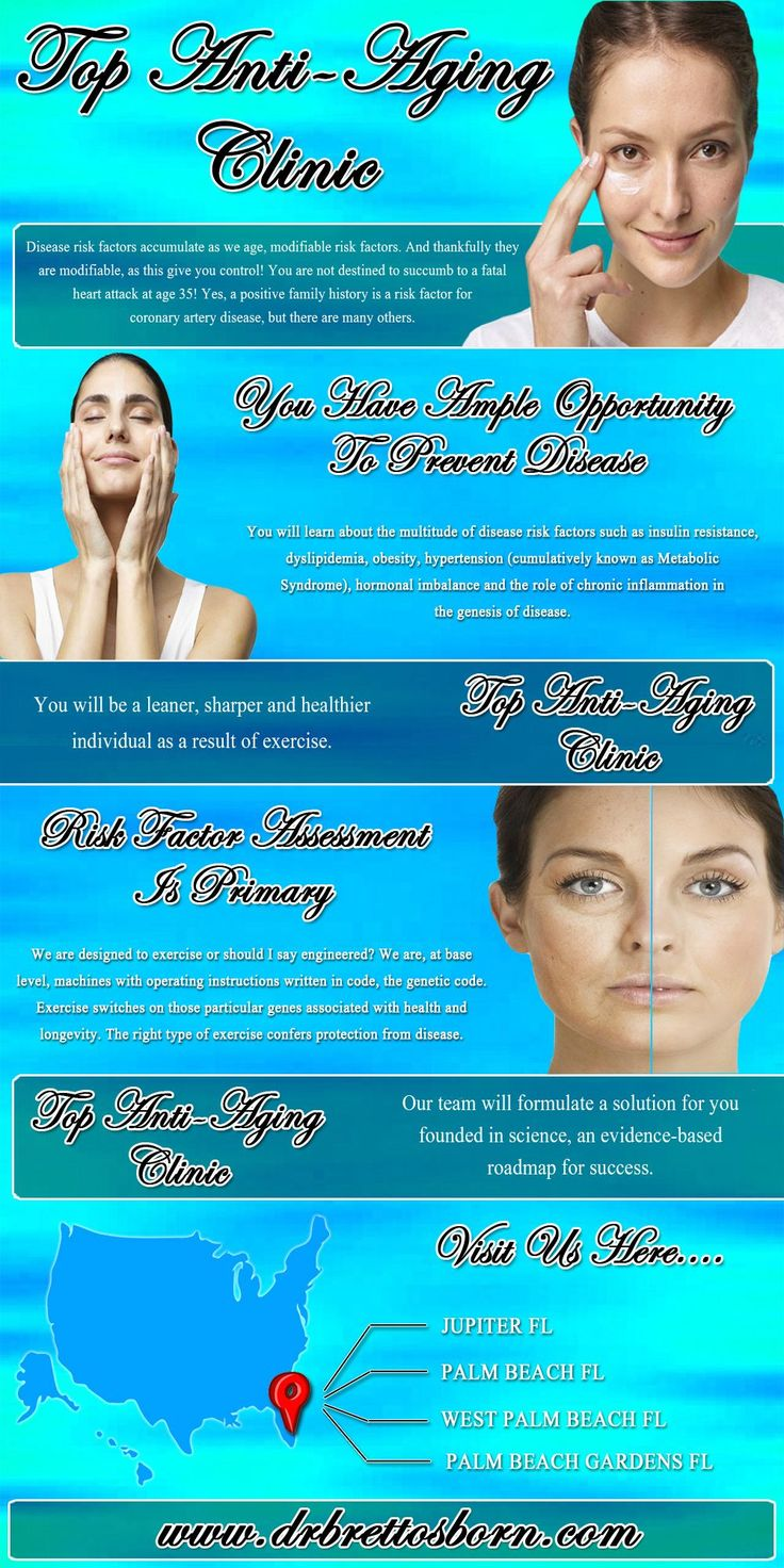 Click this site http://drbrettosborn.com/ for more information on Top Anti-Aging Clinic Jupiter FL. In Top Anti-Aging Clinic Jupiter FL, aging is treated like any other disease and they provide various services to help reverse the process of aging within your body. Our goal in life is to improve your lifestyle by reducing or eliminating your frailty and dependence that occurs with advancing age. We look forward to helping you achieve your best possible result.