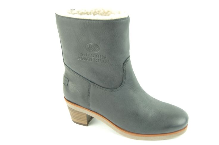 Shabbies boot zwart - black