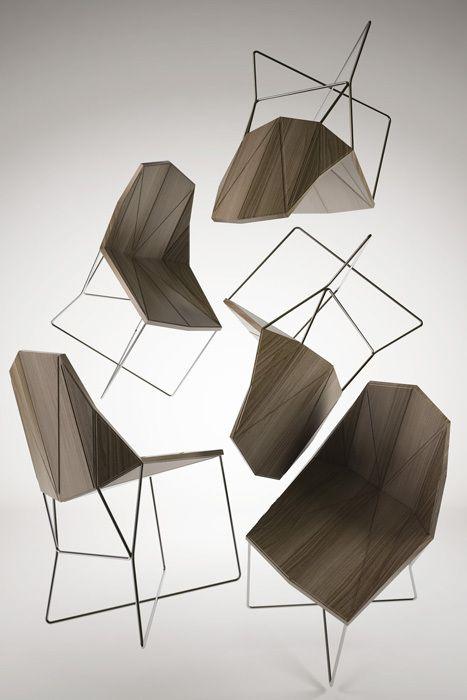 Polygon Chairs · EntwurfTischeSesselStuhlProdukteGeometrischen ...