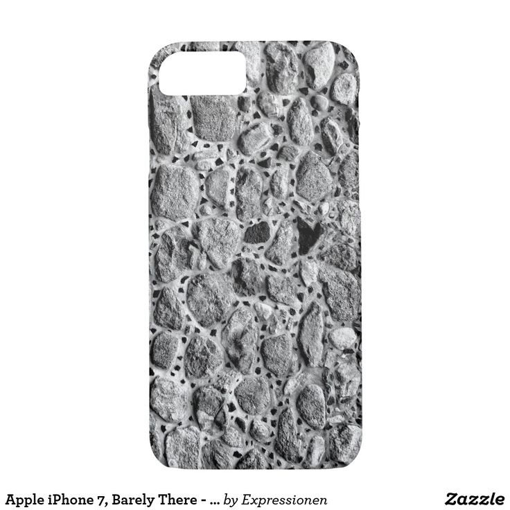 Apple iPhone 7, Barely There - Safe it! #smartphone #cover #cases #iphone #handy #handyhuelle #otterbox #steine #mauer #schutzhuelle