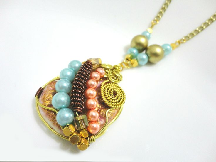 Wire&Bead With Polymer Clay