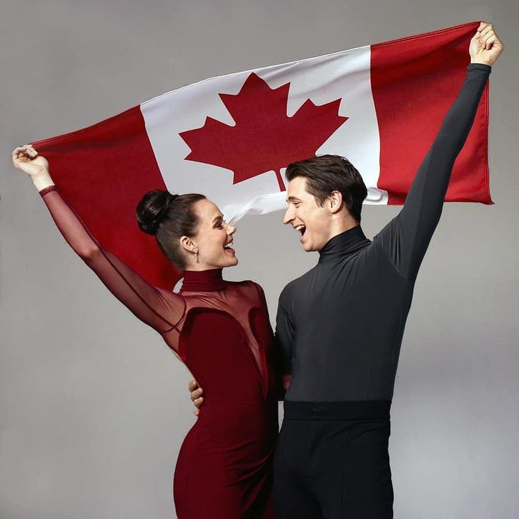 Canada's answer to excellence in ice dance. They are almost too adorable even if they aren't a couple.
