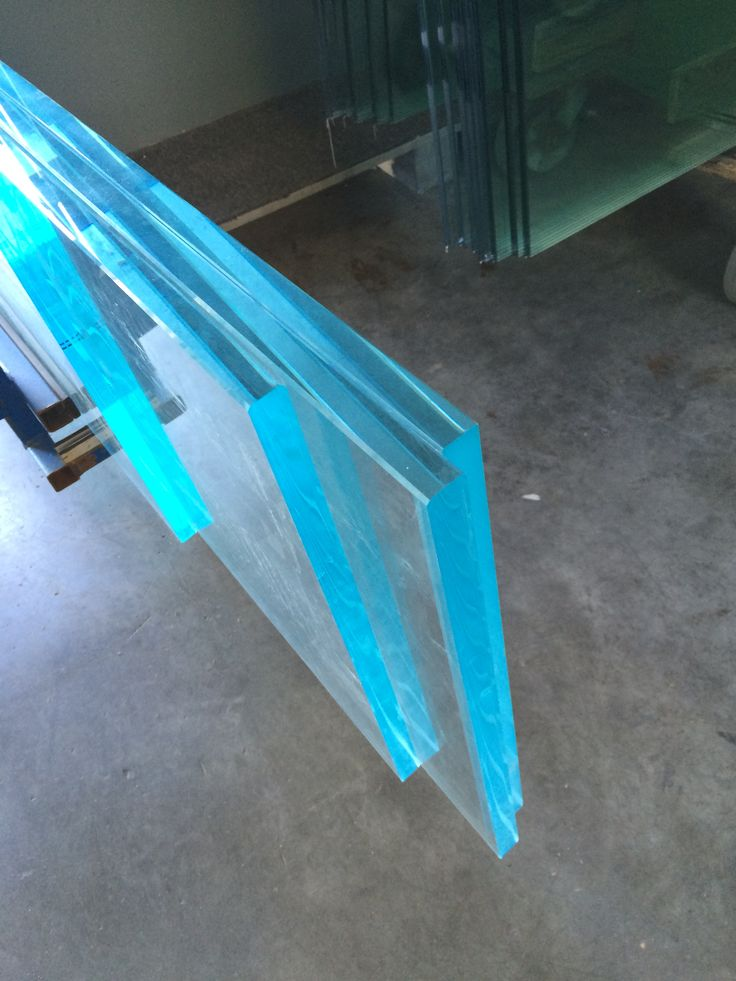 Verre extraclair 19mm joints polis