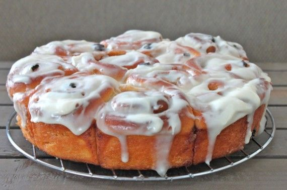 Best Ever Ever EVER Cinnamon Rolls with Cream Cheese Icing Recipe