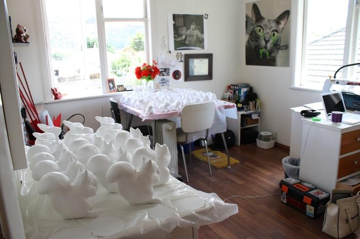 Studio summer 2011 (preparing for 'Freeze sucker')