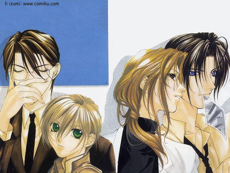 descendants of darkness tsuzuki and hisoka GIF - Google Search ...