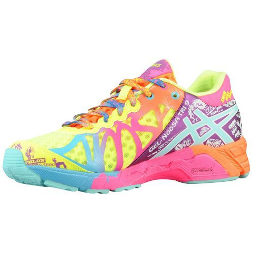 asics gel noosa tri 9 flash yellow turquoise berry