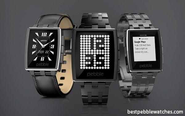 Pebble Steel Watches