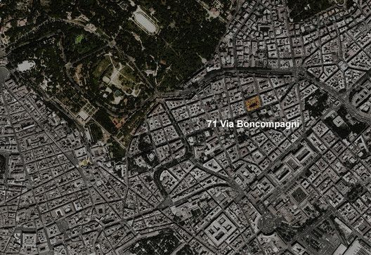 MAD's First European Project Wins Planning in Rome,Site Plan. Image © MAD Architects