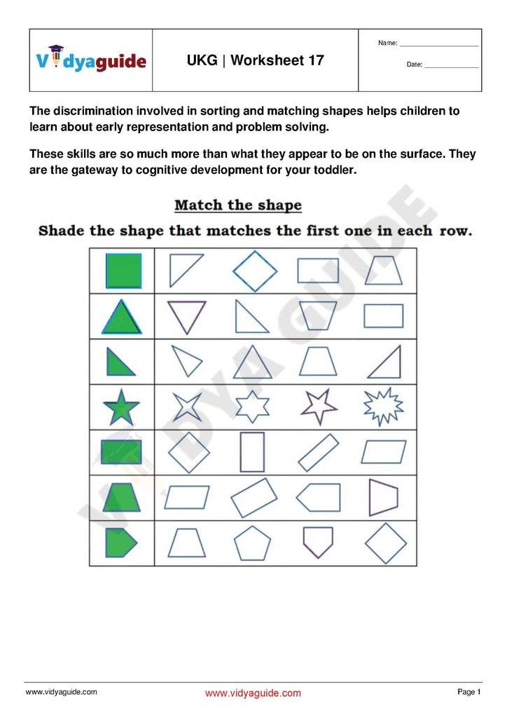 Ukg Free Printable Practice Worksheet 17 Kindergarten Math Worksheets Kindergarten Math Worksheets Ukg english worksheets pdf download