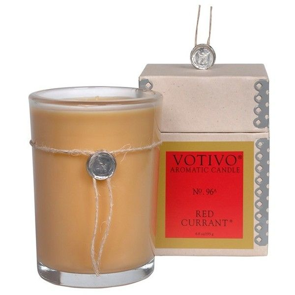 Votivo 'soziety' Soy Wax Candle ($28) ❤ liked on Polyvore featuring home, home decor, candles & candleholders, red currant, votivo candles, fragrance candles, grapefruit candle, mimosa candle and scented soy wax candle