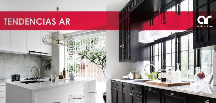 Balck & white ¿Cuál de estas dos tendencias prefieres para tu hogar? #TendenciasAR