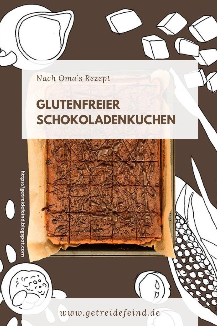 Dieser glutenfreie Schokoladenkuchen ist nach dem Rezept meiner Oma entwickelt u… – gluten free