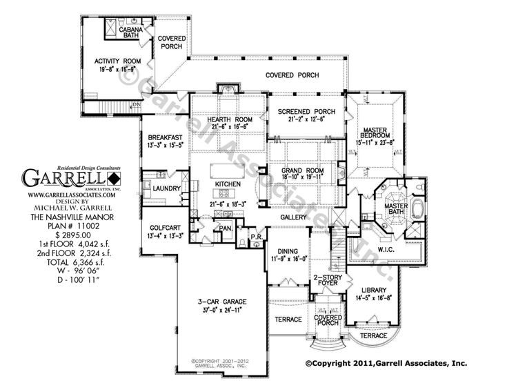 nashville manor house plan 11002 1st floor plan french country house plans