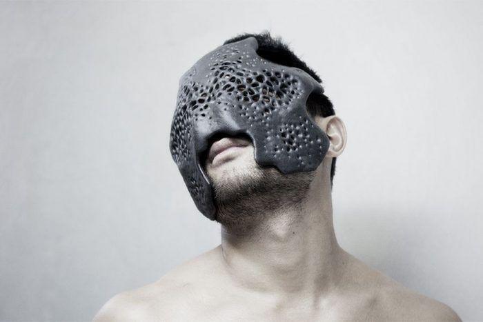 MHOX Design – carapace masks . vidiam