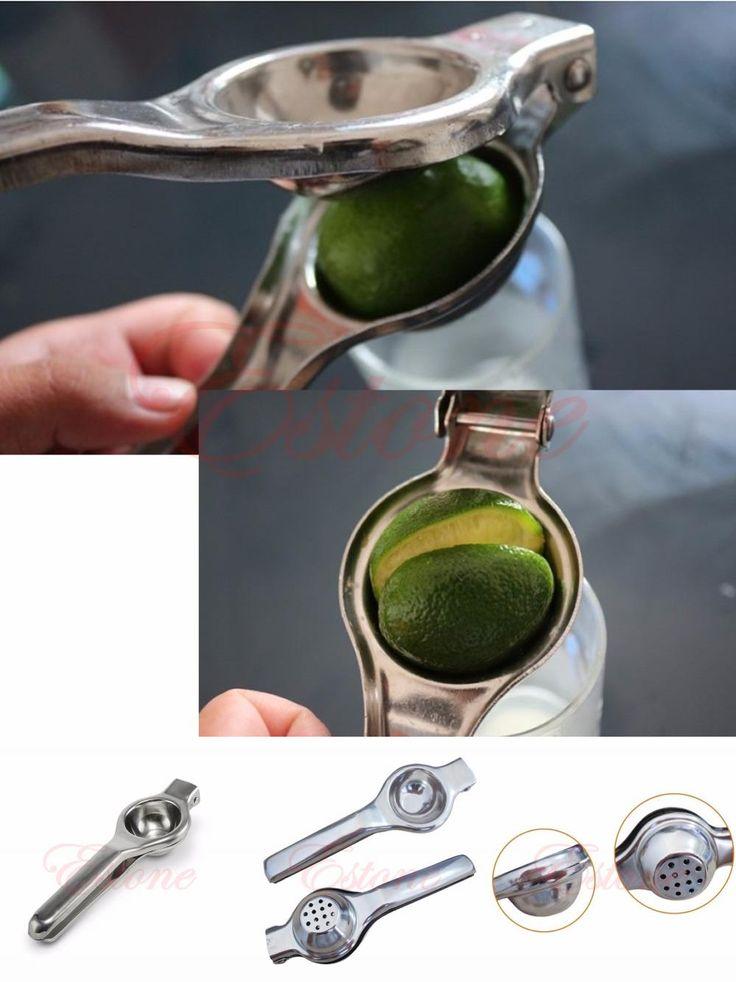 [Visit to Buy] Stainless steel press lemon lime orange juicer Citrus juicer juicer kitchen bar Food Processor Kitchen Bar Tool #Advertisement