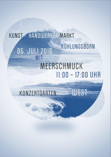 MeerSchmuck auf dem Kunsthandwerkermarkt in Kühlungsborn am 05. Juli 2016