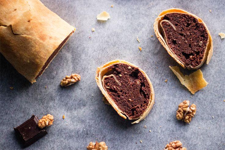 Chocolate strudel | Čokoládová štrúdľa « Tina