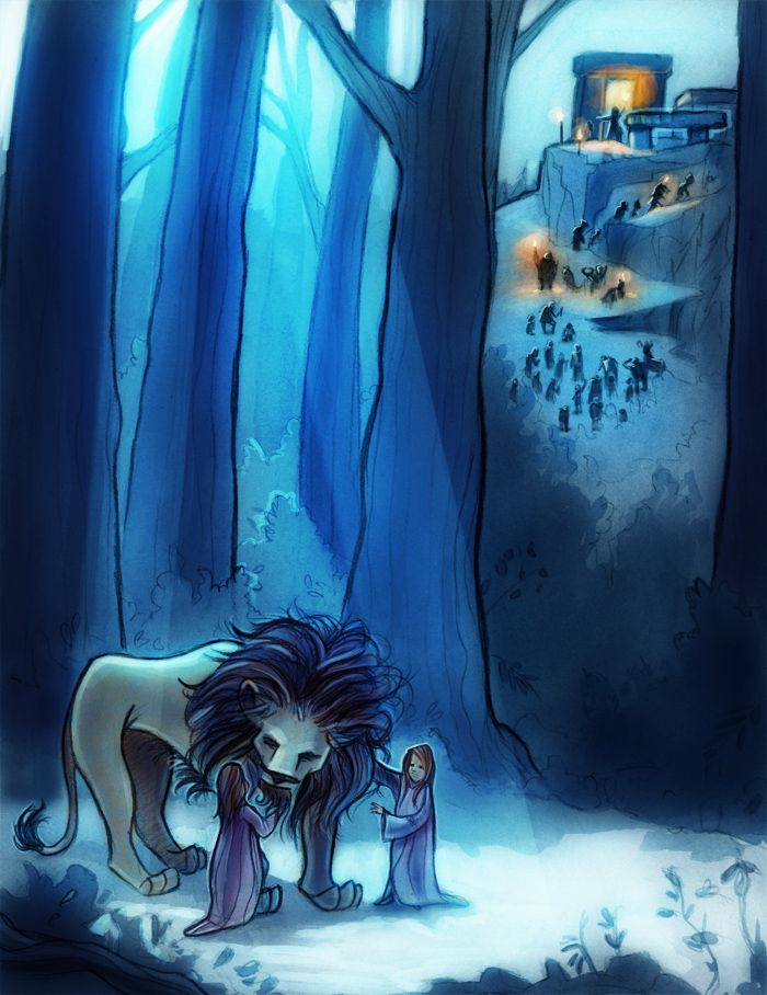 The Stone Table by Nicholas Jackson ~ The Lion, the Witch, and the Wardrobe | Narnia