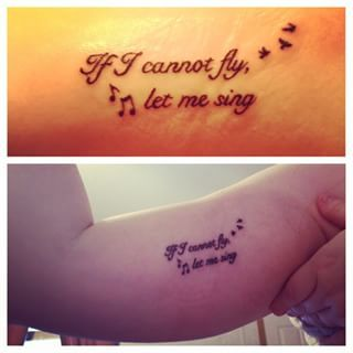 """""""Having bipolar disorder throughout high school, music and singing was the only thing that kept me sane and kept me breathing those nights when I didn't want to anymore."""" 