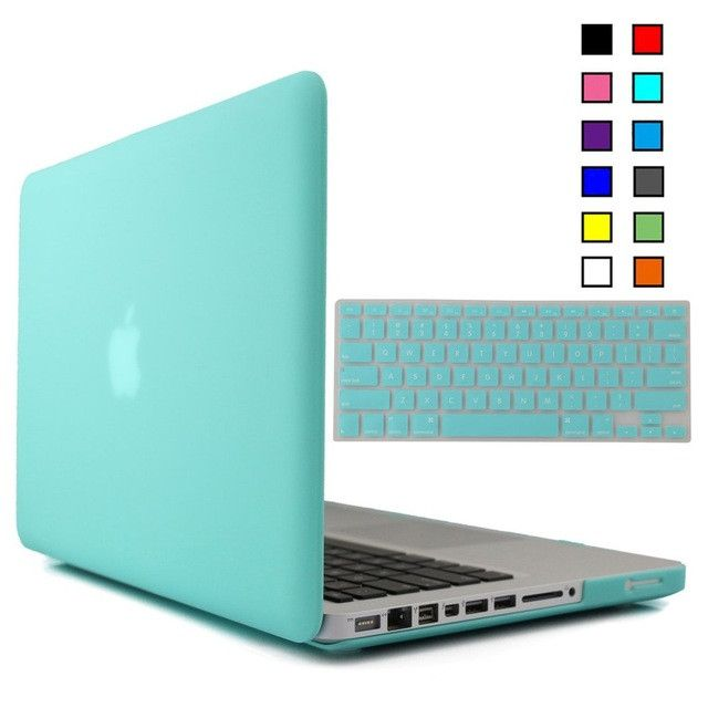 Rubberized Matte shell case for Macbook Pro 13 15 inch Caso with Silicone Keyboard Film for macbook case cover para portatil