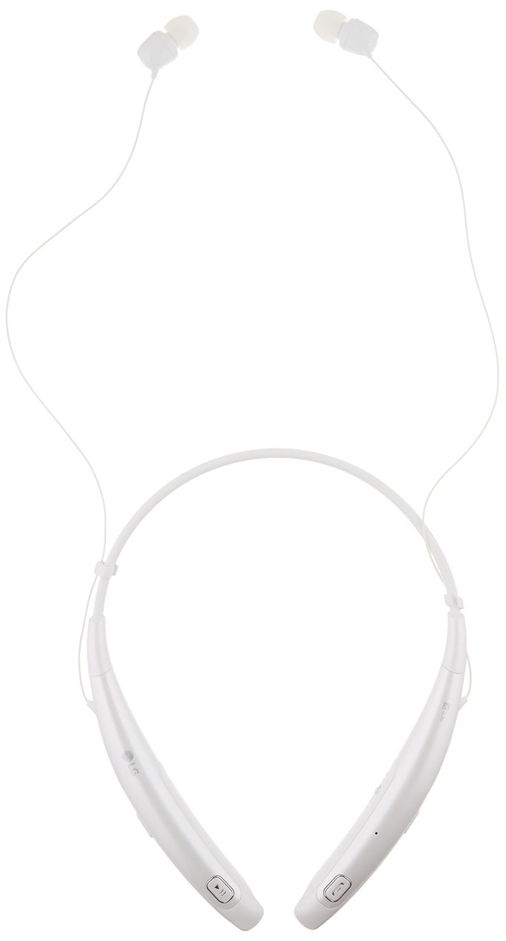 LG Tone Pro HBS-770 Wireless Stereo Headset - White. Ultra-Fine Wires - Low-profile wires uses quality Kevlar fiber and accentuate the slim design. Contoured for Comfort Design - Lightweight around-the-neck wearing style achieves true comfort. Quad-Layer Speaker Technology - Balanced audio and less distortion. Dual MEMS Microphones - Maintain exceptionally clear voice calls. Tone & Talk 2.0 - SMS reading with added Voice Memo and Find Me features, allowing you to use your TONE PRO to…