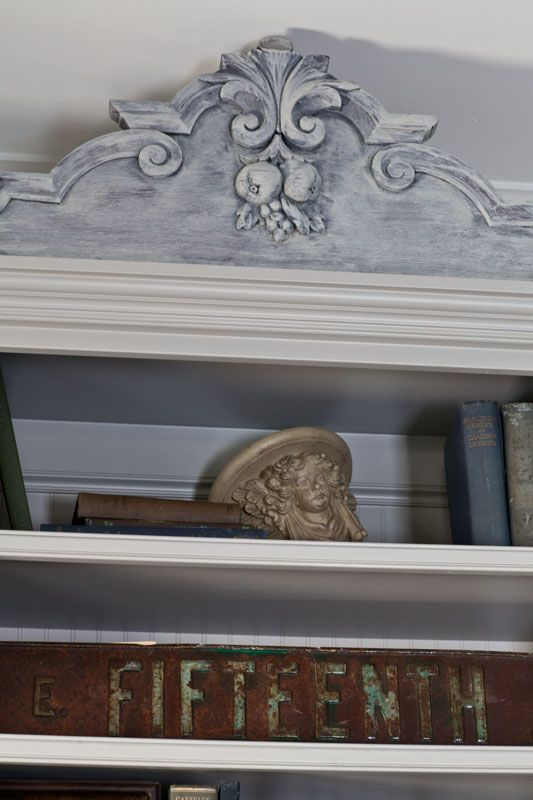bookcase-color-wash #frenchdecor